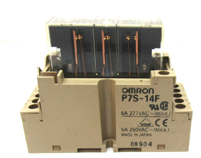 Omron P7S-14F Relay Socket  6A 250 VAC