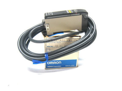 Omron E3X-A11 PhotoElectric Switch 10-30 Vdc New
