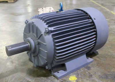 Emerson 30Hp Electric Motor 1755 RPM, 286T Frame, 208-460V, EL30