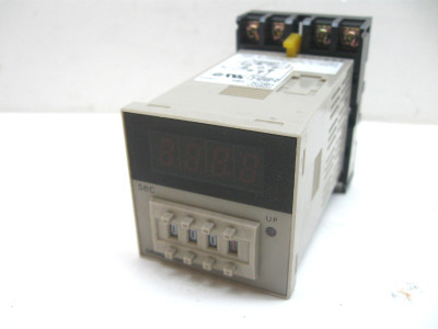 Omron H5CN-XBN UP Display Timer 12-48 Vdc 0.1-999.9 Seconds