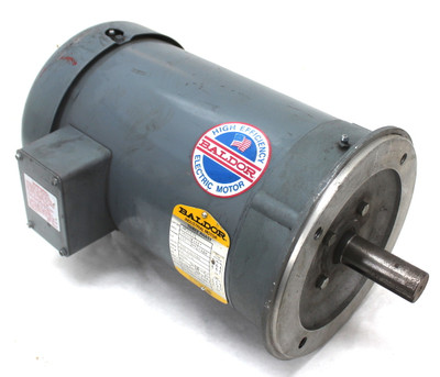 Baldor VM3613T Industrial Three Phase Motor 5Hp 3450RPM 60Hz