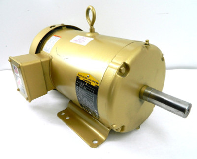 Baldor EM3615T Super-E 5Hp Electric Motor 1750 RPM, 208-460Vac, 3 Ph, 184T, TEFC