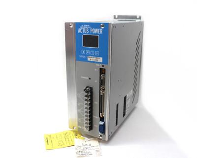Nikki Denso NPSA-TMTA-801 Actus Power AC Servo Controller, 200-220Vac, New