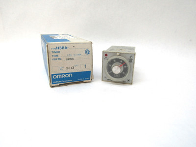 Omron H3BA Multi-Functional Timer Relay 24v New