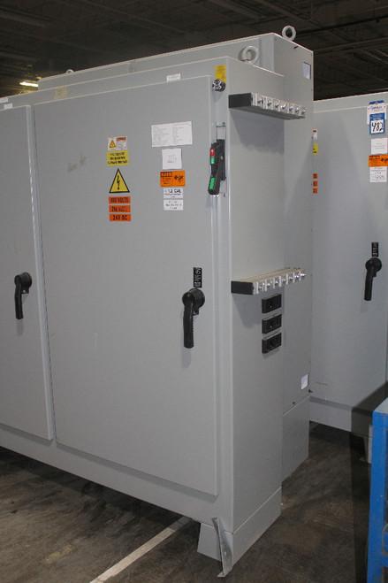 "Hoffman A72XM7818FTCLP Free-Stand Disconnect Enclosure, NEMA 12, 72"" x 78"" x 18"""