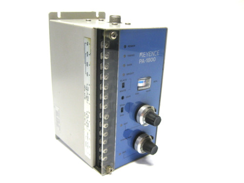 Keyence PA-1800 Optical Displacement Sensor Controller 110-240 Vac