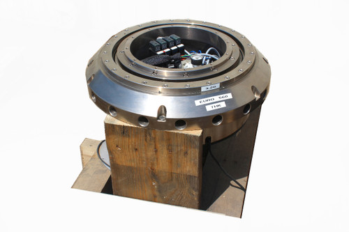 "Applied Materials 4 Station Rotary Index Table Servo Driven 11"" Diameter Hub"