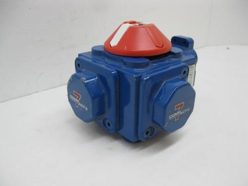 Compact II Quarter Turn Actuator C15-SR01B2 IMP Double Acting
