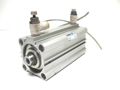 Smc CDQ2B40-75D Compact Cylinder 40 MM Bore, 75 MM Stroke, D-A73 Auto Switch
