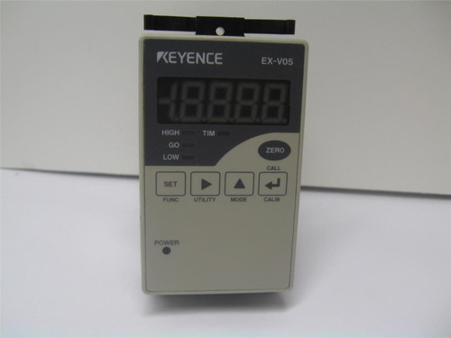 Keyence EX-V05 Digital Inductive Displacement Sensor