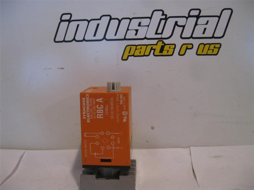 Syracuse Electronics RBCA 00300 Time Delay Relay w/Base