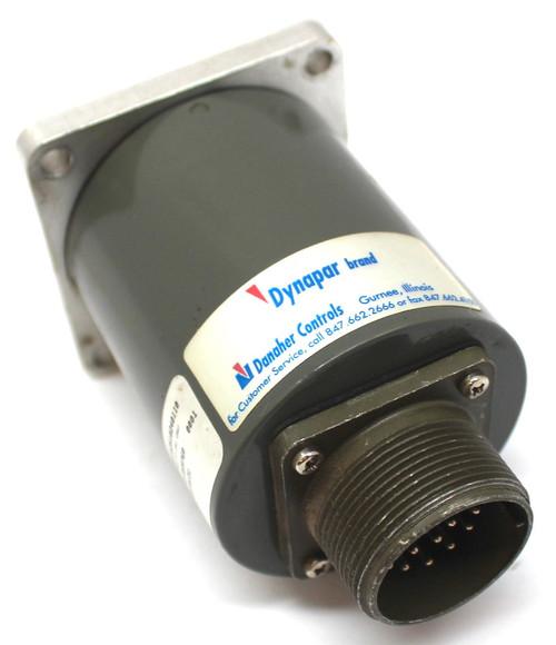 Dynapar A2510240110 Absolute Single Turn Encoder 3/8 Shaft 24Volt Flange 17 Pin