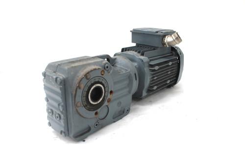 Sew Eurodrive 1.5Hp Hollow Shaft Gear Motor KH37, 1725 RPM, 208-460V, 1 1/8 In