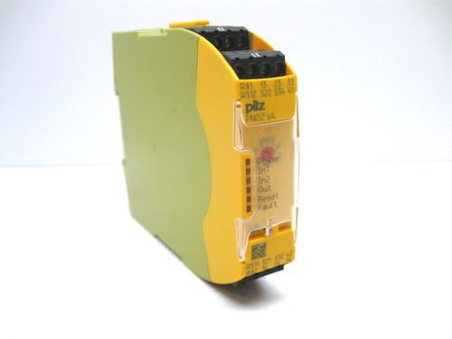 Pilz PNOZ S4 24 Vdc 3N/O 1N/C Safety Relay 750104