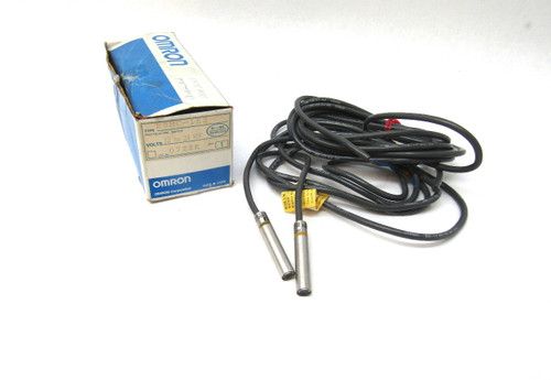 Omron E3HC-1E2 Photoelectric Sensor, Through-Beam, 12-24V, Infrared 950nm, New