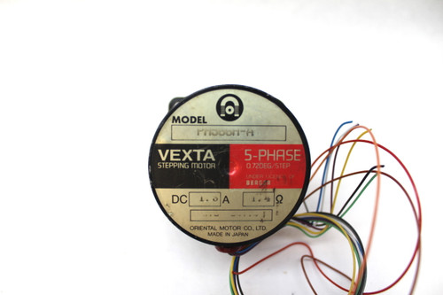 Oriental Motor Co. PH566H-A Vexta Stepping Motor 0.72 Degree, 5 Phase