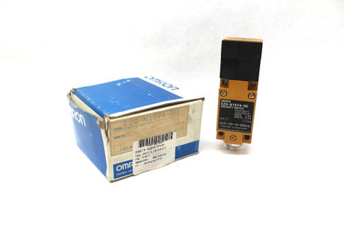 Omron E2Q-N15Y4-50 Proximity Switch, Pilot Duty, 24-240Vac, New