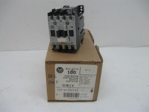 Allen Bradley 100-A12NZ243 Contactor 24 Vdc New