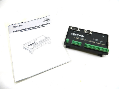 Cognex In-Sight I/O Expansion Module 800-5758-1 G