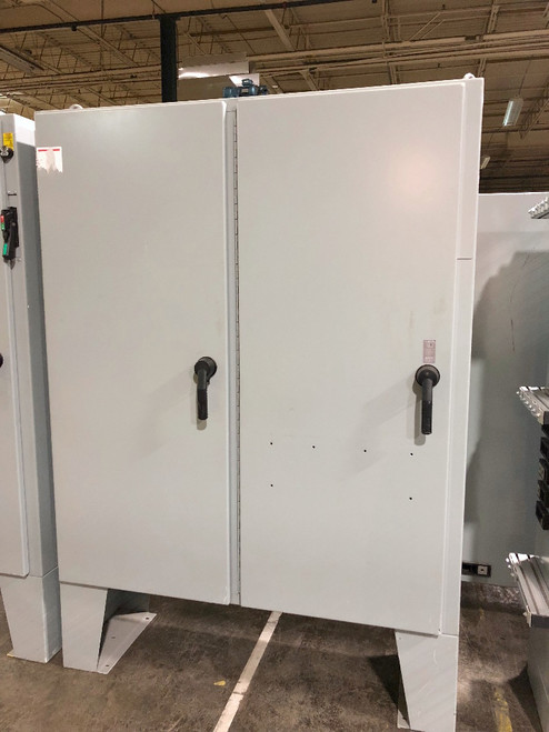 Hoffman A72X6118LPFTC  Free Standing Electrical Enclosure w/ Backplate