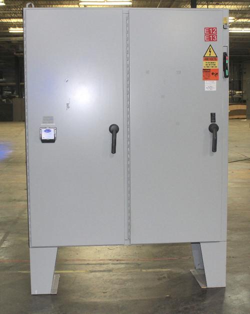 Hoffman A72X6118LPFTC Disconnect Enclosure 2 Door 72.13x61.75x1 Control Cabinet