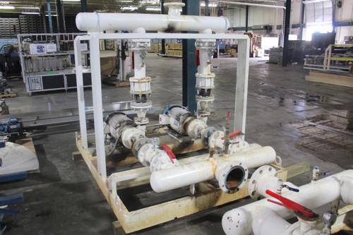 20Hp Paco Pumps Centrifugal Pump Skid, 300 GPM, 170' Head, 3525 RPM, 208-460Vac