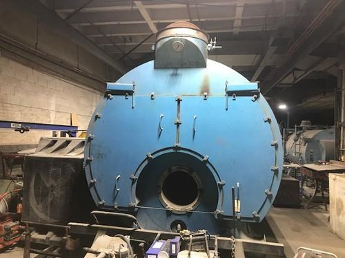 2001 Superior Boiler Works 350Hp FireTube Boiler, 150 PSI, Powerflame Burners