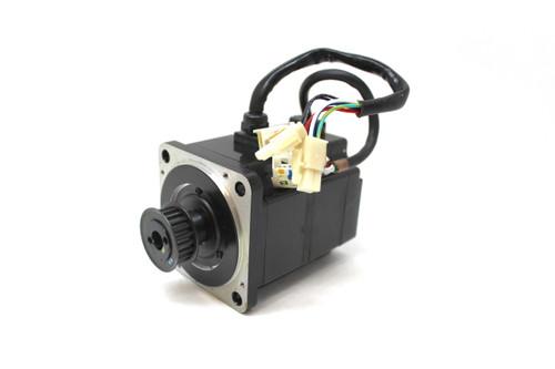 Yaskawa SGMPH-02A2A-YR12 AC Servo Motor, 200W, 200V, 2.0 Amp, 3000 RPM
