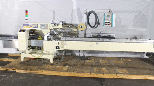 Ilapak Carrera 1000 PC Horizontal Flow Wrapper 100 Cycles P/Min PC Controlled