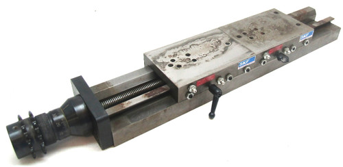 "SKF SSM Dovetail Linear Slide Table 100mm Stroke, 4"" x 6"" Tables"