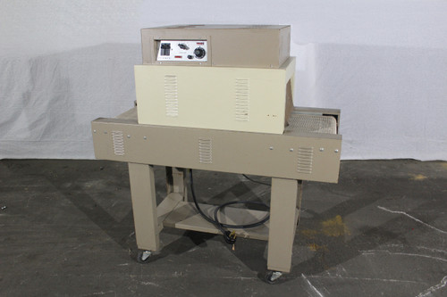 "Clamco 850MB Heat Shrink Tunnel 220Vac, 200-550 Degrees, 15"" x 8"" Conveyor"
