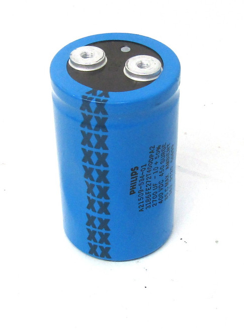 Philips A21509-534-01 Capacitor, 400Vdc, 2700UF