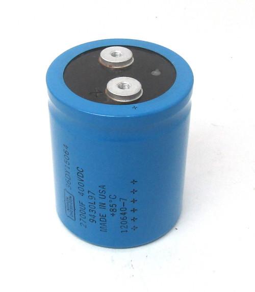 Nippon Chemi-Con 36DY15064 Capacitor, 400V, 2700UF
