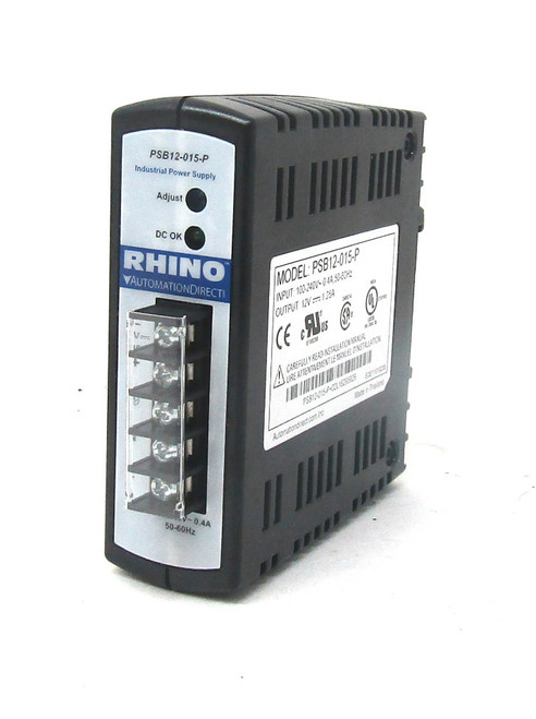 Rhino Automation Direct PSB12-015-P Power Supply