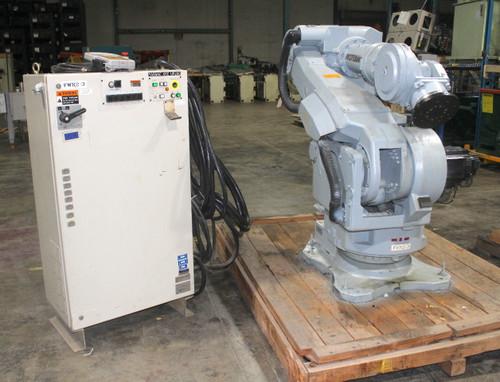 Motoman UP200 Six Axis Robot 200Kg Payload XRC Control, Teach Pendant, & Cables