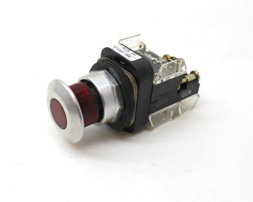 Allen Bradley 800T-FXC24RA1 Red Illuminated E-Stop Button 24V Series T
