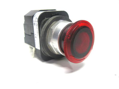 Allen Bradley 800T-FXTP16 A1 Illuminated Red Emergency Stop 120V