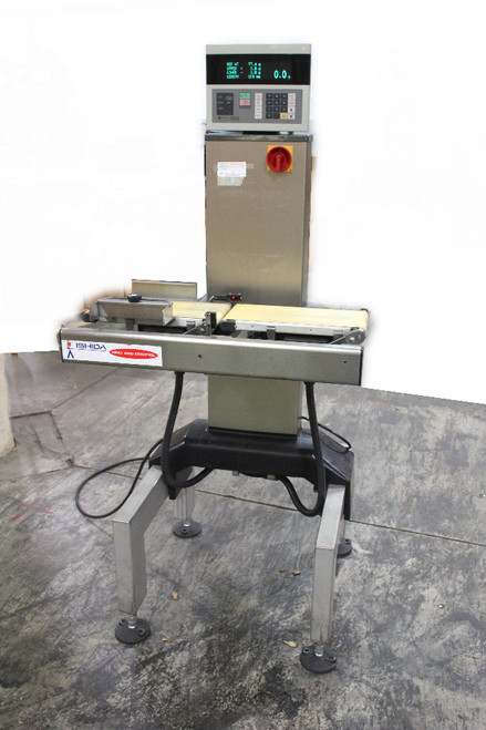 Ishida Heat & Control DACS-W-003-SB/PB-I Checkweigher Conveyor 300g Capacity
