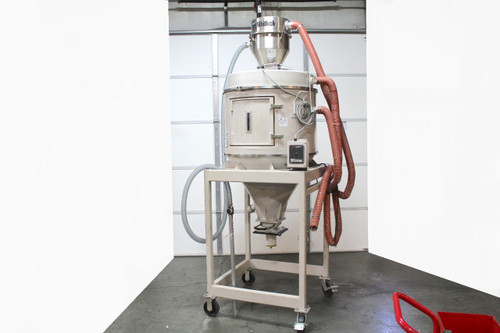 AEC Whitlock DH-12 Drying Hopper with SLC08 Autoloader 420Lb Capacity