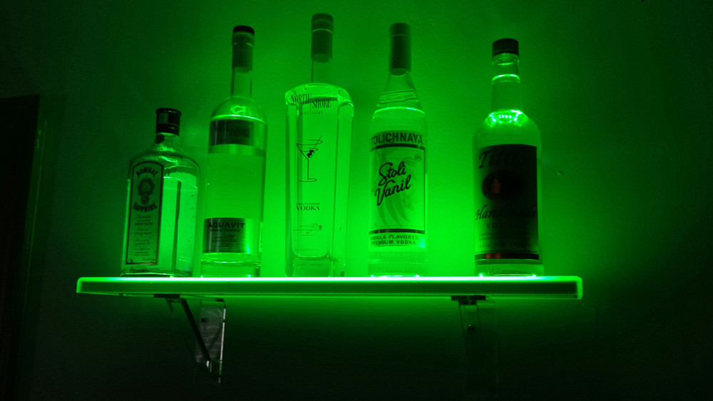 LED Floating Bar Shelf