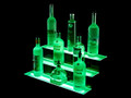 3 Tier LED Liquor Shelf Display