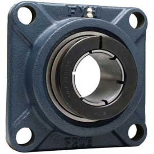 "NCF211-32JE FYH 4 Bolt Flange Mounted Ball Bearing 2"" Bore Dia., Concentric Collar"
