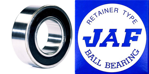 5204 2RS JAF Double Row Angular Ball Bearing Double Seal 20 X 47 X 20.6