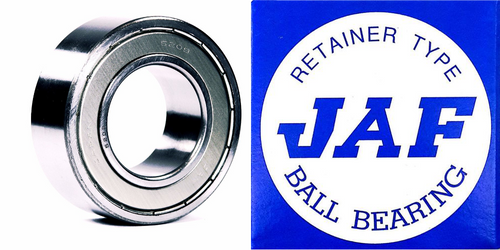 5203 ZZ JAF Double Row Angular Ball Bearing Double Shield 17 X 40 X 17.5