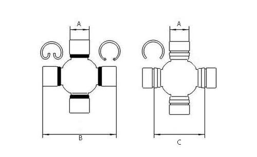 1-1275, 12 Series 1200 Neapco, 12R Weasler/200-1200/20036