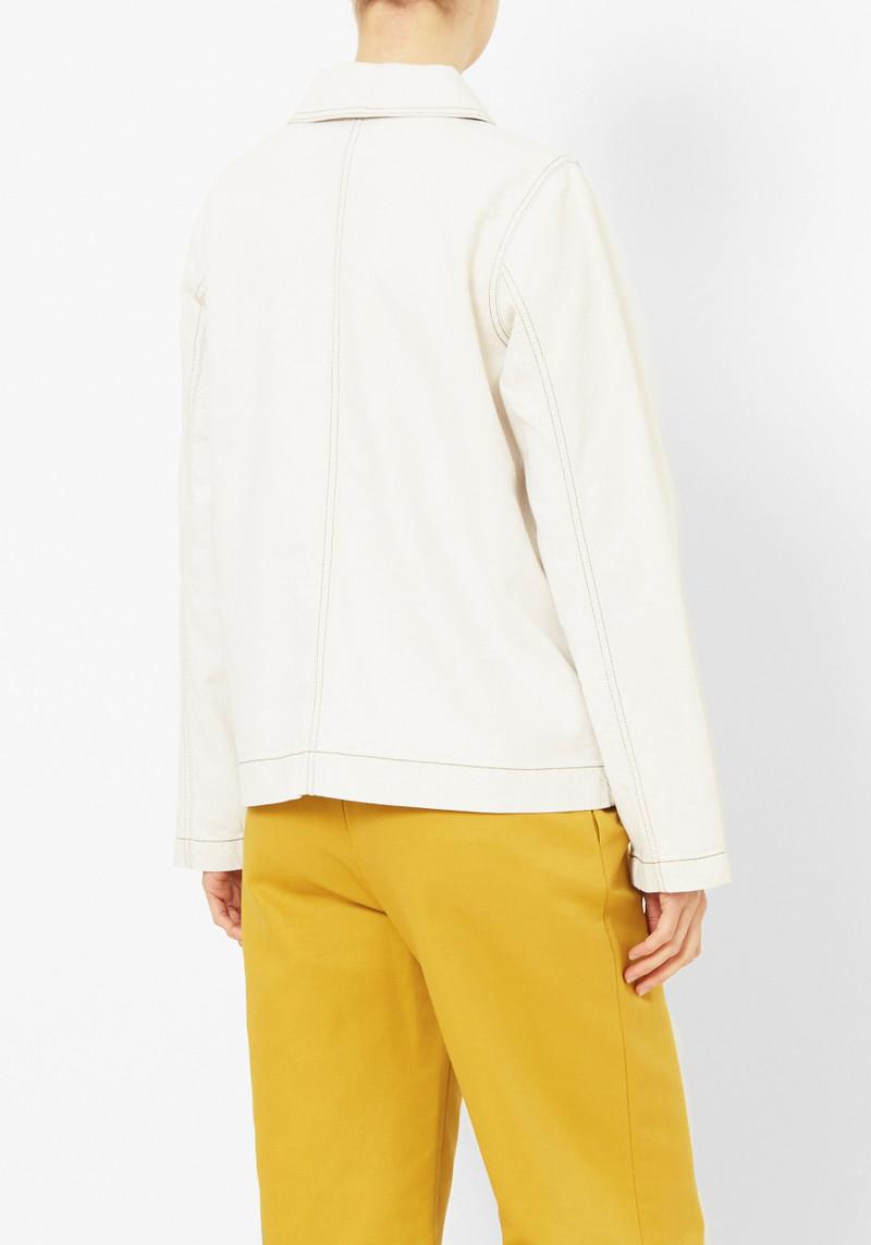 You Must Create Ecru Denim Jacket