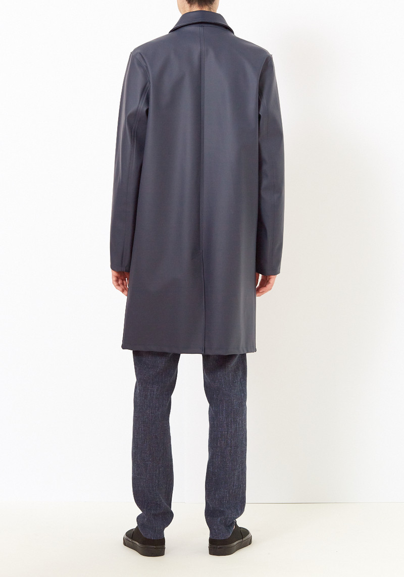 Stutterheim Navy Vasastan Raincoat