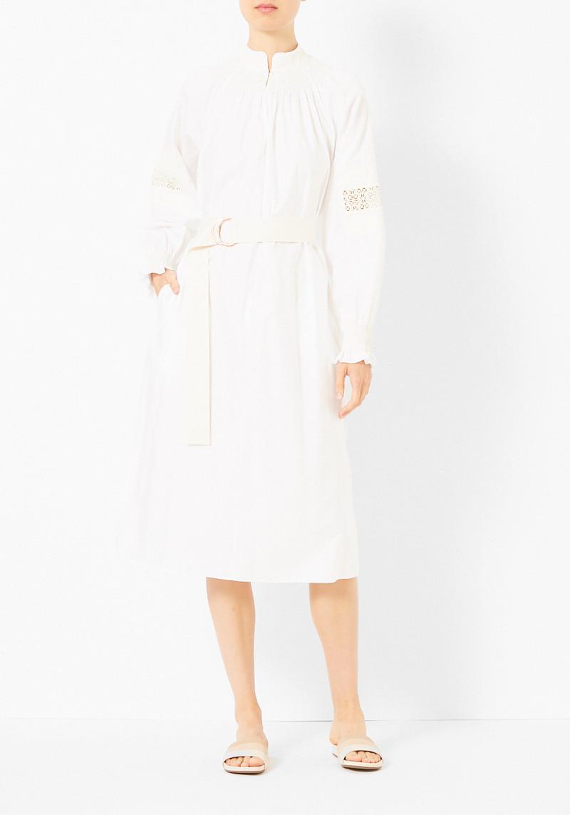 Tibi Cora Embroidery Midi Dress