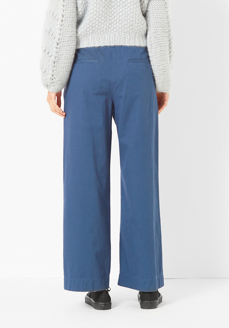 Tibi Enzyme Wash Wide Leg Pant