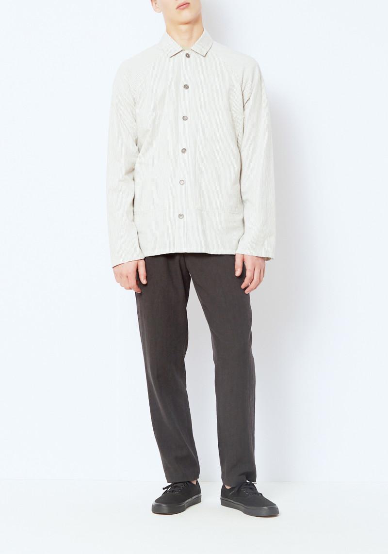 You Must Create Gray Stripe Cool Hand Luke Shirt